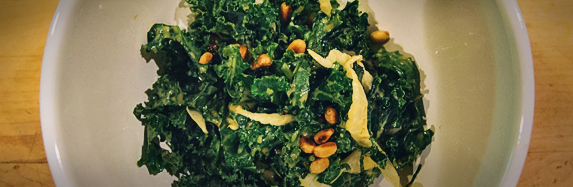 Kale & Fennel Salad with Miso Dressing